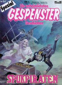 Cover Thumbnail for Gespenster Geschichten Spezial (Bastei Verlag, 1987 series) #54 - Spukpiraten