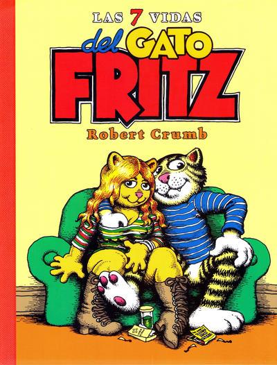 Cover for Las 7 Vidas del Gato Fritz (Ediciones La Cúpula, 2016 series)