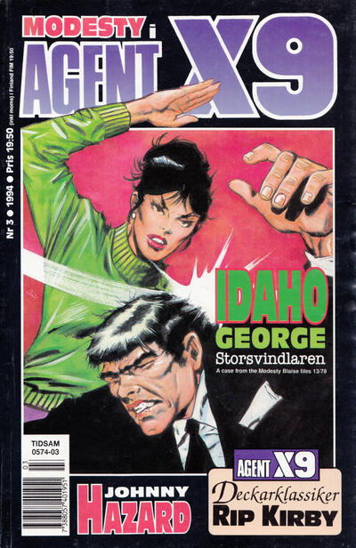Cover for Agent X9 (Semic, 1971 series) #3/1994