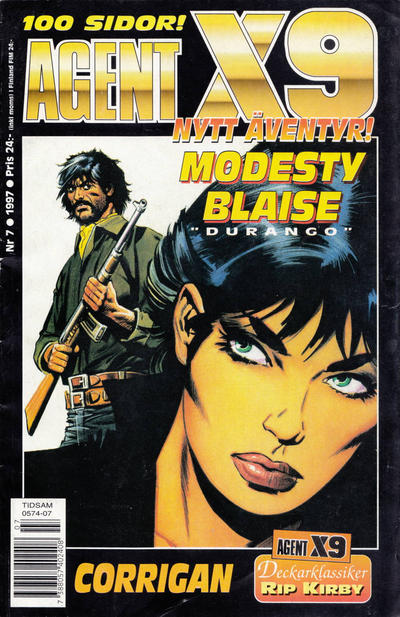 Cover for Agent X9 (Semic, 1971 series) #7/1997
