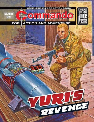 Cover for Commando (D.C. Thomson, 1961 series) #4981