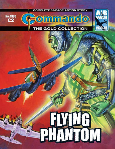 Cover for Commando (D.C. Thomson, 1961 series) #4980