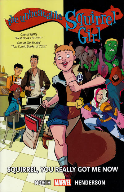 Cover for The Unbeatable Squirrel Girl (Marvel, 2015 series) #3 - Squirrel, You Really Got Me Now