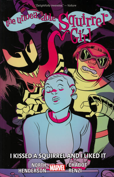 Cover for The Unbeatable Squirrel Girl (Marvel, 2015 series) #4 - I Kissed a Squirrel and I Liked It