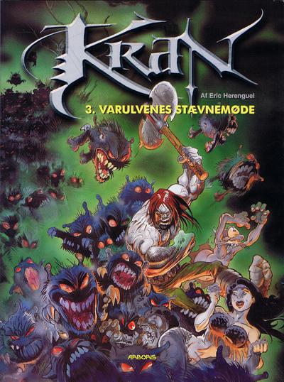 Cover for Krän (Arboris, 2001 series) #3 - Varulvenes stævnemøde