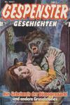 Cover for Gespenster Geschichten (Bastei Verlag, 1974 series) #1007