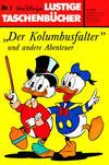 """Cover for Lustiges Taschenbuch (Egmont Ehapa, 1967 series) #1 - """"Der Kolumbusfalter"""" und andere Abenteuer [5,- DM]"""
