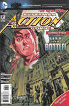 Cover for Action Comics (DC, 2011 series) #7 [Combo Pack Edition]