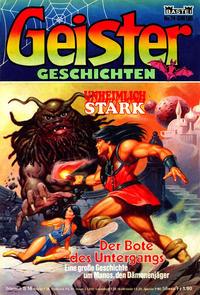 Cover Thumbnail for Geister Geschichten (Bastei Verlag, 1980 series) #74