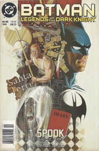 Cover Thumbnail for Batman: Legends of the Dark Knight (DC, 1992 series) #103 [Newsstand]
