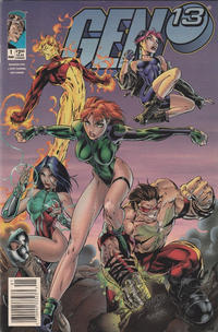 Cover Thumbnail for Gen 13 (Image, 1995 series) #1 [Newsstand]