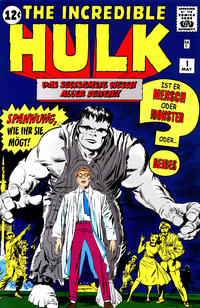 Cover Thumbnail for The Incredible Hulk (Panini Deutschland, 1999 series) #1