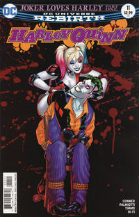 Cover Thumbnail for Harley Quinn (DC, 2016 series) #11 [Amanda Conner Cover Variant]