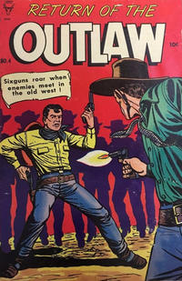Cover Thumbnail for Return of the Outlaw (Superior, 1953 series) #4