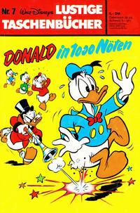 Cover Thumbnail for Lustiges Taschenbuch (Egmont Ehapa, 1967 series) #7 - Donald in 1000 Nöten [5,- DM]