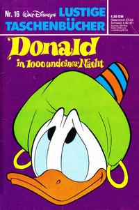 Cover Thumbnail for Lustiges Taschenbuch (Egmont Ehapa, 1967 series) #16 - Donald in 1000 und einer Nacht  [4,80 DM]