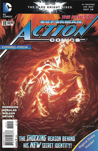 Cover Thumbnail for Action Comics (DC, 2011 series) #11 [Combo Pack]