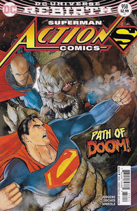 Cover Thumbnail for Action Comics (DC, 2011 series) #958 [Second Printing]