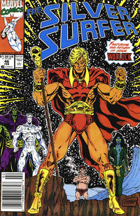 Cover Thumbnail for Silver Surfer (Marvel, 1987 series) #46 [Newsstand]
