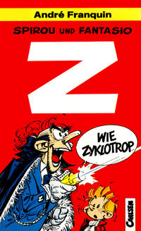 Cover Thumbnail for Carlsen Pocket (Carlsen Comics [DE], 1990 series) #5 - Spirou und Fantasio - Z wie Zyklotrop