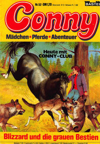 Cover for Conny (Bastei Verlag, 1980 series) #52