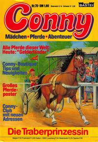 Cover Thumbnail for Conny (Bastei Verlag, 1980 series) #70