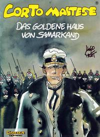 Cover Thumbnail for Corto Maltese (Carlsen Comics [DE], 1988 series) #9 - Das goldene Haus von Samarkand
