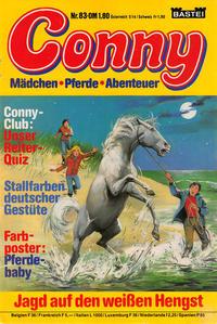Cover Thumbnail for Conny (Bastei Verlag, 1980 series) #83