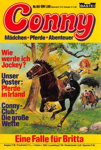 Cover Thumbnail for Conny (Bastei Verlag, 1980 series) #80