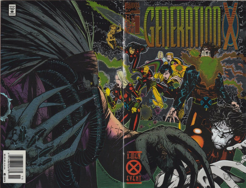 Cover for Generation X (Marvel, 1994 series) #1 [Direct Edition]
