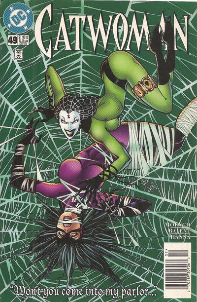 Cover for Catwoman (DC, 1993 series) #49 [Direct Edition]