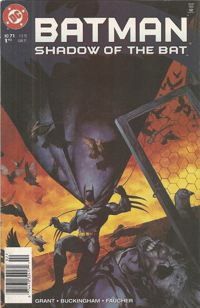 Cover for Batman: Shadow of the Bat (DC, 1992 series) #71 [Direct Sales]