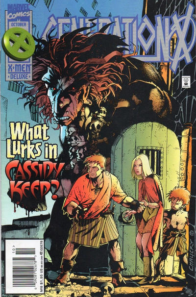 Cover for Generation X (Marvel, 1994 series) #8 [Direct Edition]