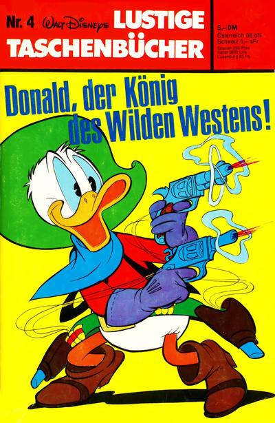 Cover for Lustiges Taschenbuch (Egmont Ehapa, 1967 series) #4 - Donald, der König des Wilden Westens [5,- DM]