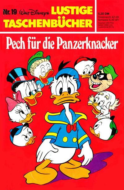 Cover for Lustiges Taschenbuch (Egmont Ehapa, 1967 series) #19 - Pech für die Panzerknacker