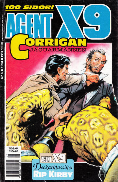 Cover for Agent X9 (Semic, 1971 series) #6/1994