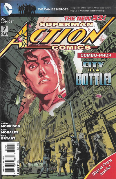 Cover for Action Comics (DC, 2011 series) #7