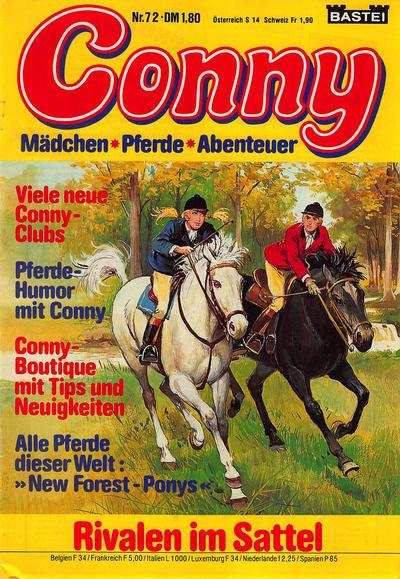 Cover for Conny (Bastei Verlag, 1980 series) #72