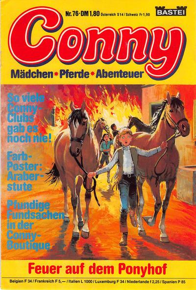 Cover for Conny (Bastei Verlag, 1980 series) #76
