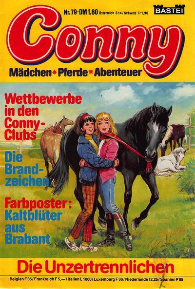 Cover for Conny (Bastei Verlag, 1980 series) #79
