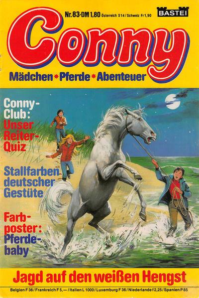 Cover for Conny (Bastei Verlag, 1980 series) #83