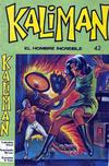 Cover for Kaliman (Editora Cinco, 1976 series) #42