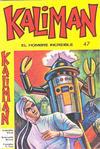 Cover for Kaliman (Editora Cinco, 1976 series) #47