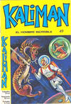 Cover for Kaliman (Editora Cinco, 1976 series) #49
