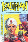 Cover for Kaliman (Editora Cinco, 1976 series) #45