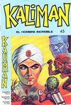 Cover for Kaliman (Editora Cinco, 1976 series) #45