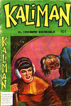 Cover for Kaliman (Editora Cinco, 1976 series) #101