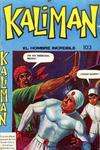 Cover for Kaliman (Editora Cinco, 1976 series) #103