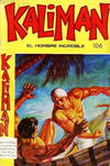 Cover for Kaliman (Editora Cinco, 1976 series) #106