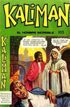 Cover for Kaliman (Editora Cinco, 1976 series) #105